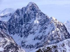 Rock Climbing Photo: The incredible 4,500' north face of Yukla
