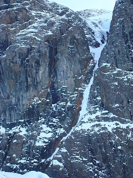 The Positive Side of Negative Thinking. Put up solo by John Kelley in 2006 or so. Wi4+, 400m.
