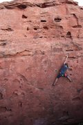 Rock Climbing Photo: Olivia Crellin top-roped on Baby Swiss