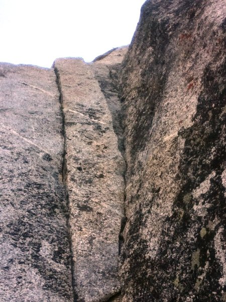 Rock Climbing Photo: Start Super Pooper here for a more direct way into...