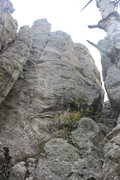 Rock Climbing Photo: 3 bolts down load and 3 more going up to the top. ...
