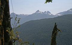 Rock Climbing Photo: View toward Tantalus Range