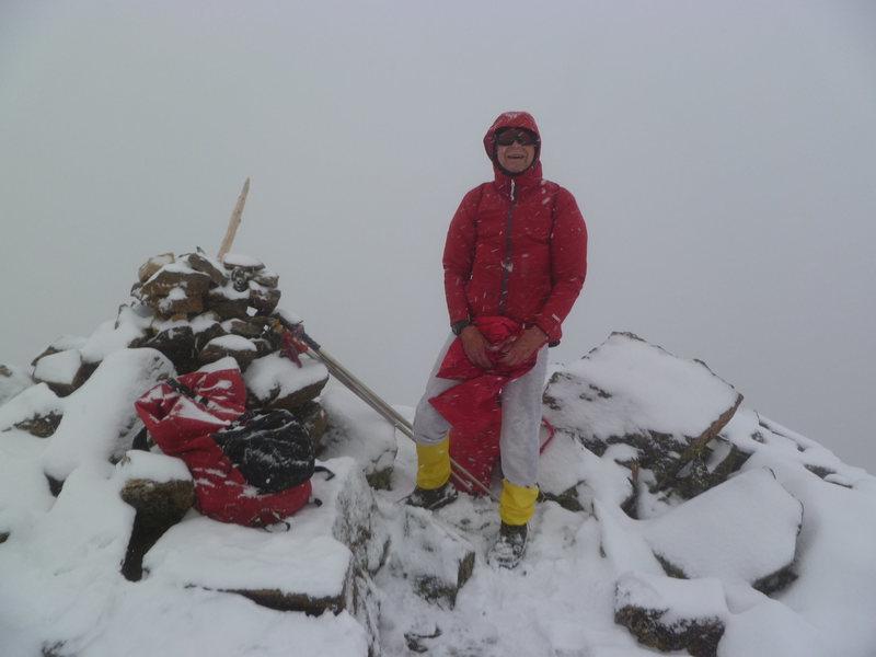 Jack Eggleston on Pika Peak
