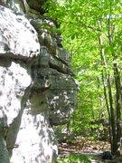 "Rock Climbing Photo: Back of ""Rocky Top"" (Bathroom Boulders)"