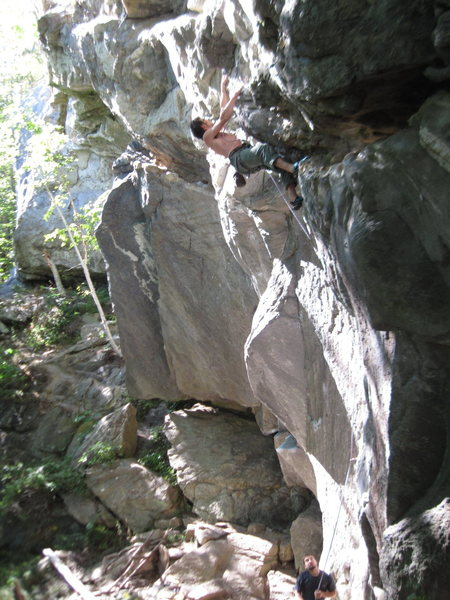 Rock Climbing Photo: Sylvain and Charles doing what they do best... cli...