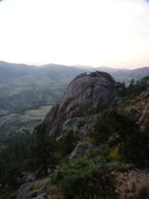 Rock Climbing Photo: Outer Space Rock.