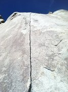 Rock Climbing Photo: Another shot of the 3rd pitch.  Amazing position &...