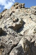 Rock Climbing Photo: A good view of most of the first, all of the secon...