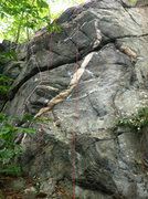 Rock Climbing Photo: Pink Panther