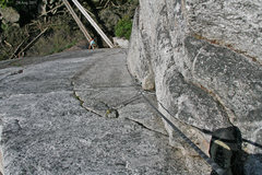 Rock Climbing Photo: starting on Oldstyle