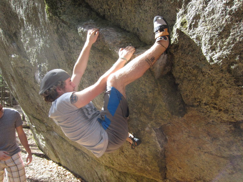 Rock Climbing Photo: Matt Baer on Brock Lee Soares