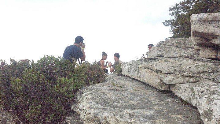 Rock Climbing Photo: Sky Top proposal