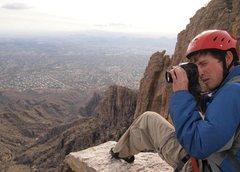Rock Climbing Photo: Summit of Finger Rock in Tucson, AZ