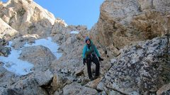 Rock Climbing Photo: Grand Teton Descent