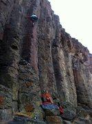 Rock Climbing Photo: High Steppin!