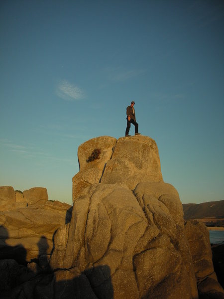 Rock Climbing Photo: King Otto's Castle at Stewart's Cove.
