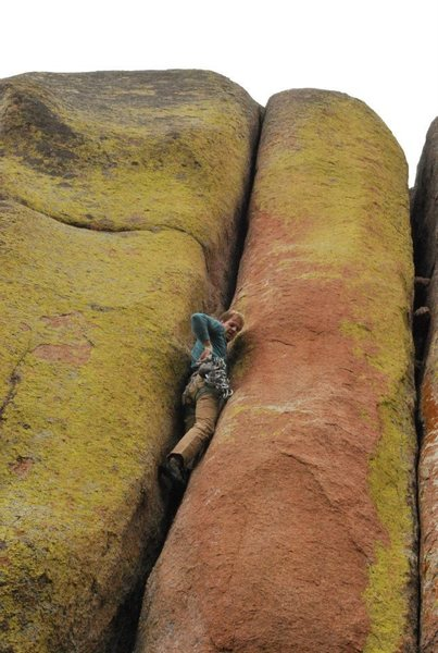 Rock Climbing Photo: Lash to the max.