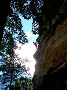 Rock Climbing Photo: Antonio on super slab #1