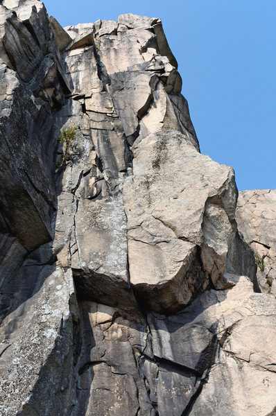 Rock Climbing Photo: Tor Line from the talus field.
