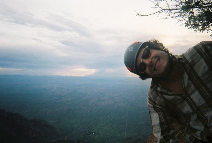 Rock Climbing Photo: Mid-pitch
