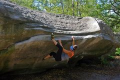 Rock Climbing Photo: The font