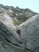 Rock Climbing Photo: Bird Cage 5.10b