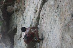 Rock Climbing Photo: going