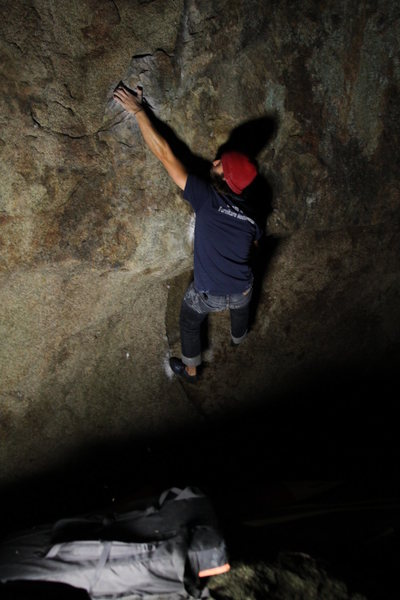 Rock Climbing Photo: This move might be a bit reachy for some people
