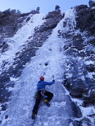Rock Climbing Photo: climbing the right line.