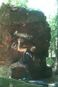 Rock Climbing Photo: leprechauns need love v2+