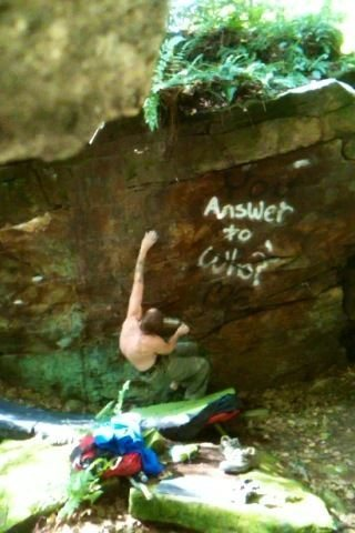 Rock Climbing Photo: project v??