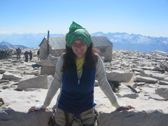 Rock Climbing Photo: Atop Whitney after the East Buttress.