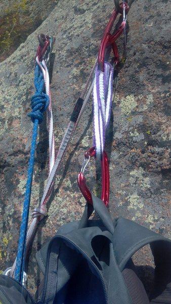 Rock Climbing Photo: Like so