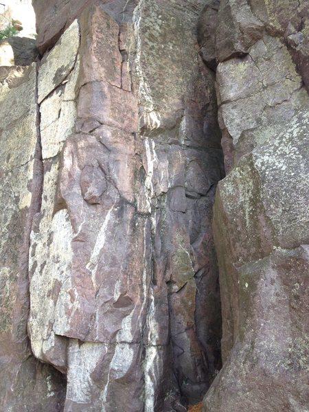 Rock Climbing Photo: decapitation