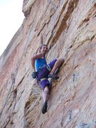Rock Climbing Photo: A happy moment on a great, happy climb.