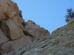 Rock Climbing Photo: As seen from trinity right.