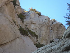 Rock Climbing Photo: Closer view from trinity right