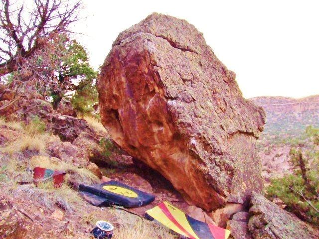 Ram Rock's west face.