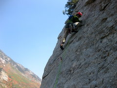 Rock Climbing Photo: das craigers cruisin the crux