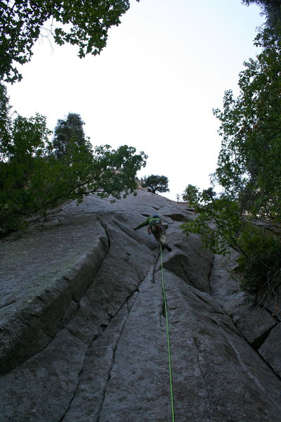 Rock Climbing Photo: das craigers walkin up pitch #1