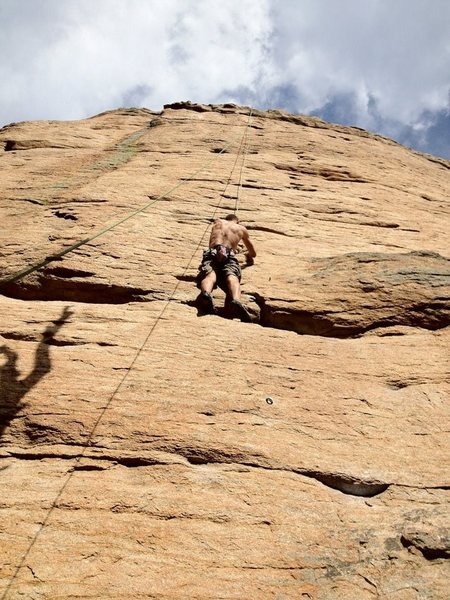 Rock Climbing Photo: Ending the small stuff and getting ready for those...
