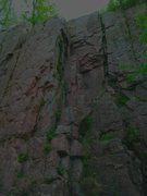 Rock Climbing Photo: Shows TOP section of the tower at South Wall, Pali...