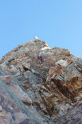 Rock Climbing Photo: December 2011 snow on Eleventh Hour.  Trip report:...