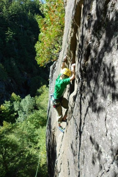 Rock Climbing Photo: Fast and Furious (5.8)