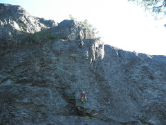 Rock Climbing Photo: Brooklyn Gose and Brett Bauer on pitch 2 of The Ma...