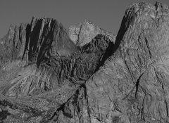 Rock Climbing Photo: Wolf's Head, Bollinger and Pingora