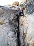Rock Climbing Photo: Zoo Keeper start.