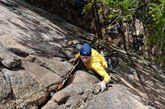 Rock Climbing Photo: Henning Boldt on Pekkas Diplomtur. September, 2012...