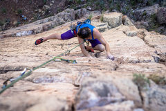 Rock Climbing Photo: Climber Clif on Dizzi Lizzi - 2 Photo by Doug Lint...