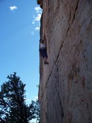 Rock Climbing Photo: Full Stretch on Spicy Holds - Cactus Rose Limeston...